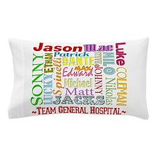 Team General Hospital Pillow Case