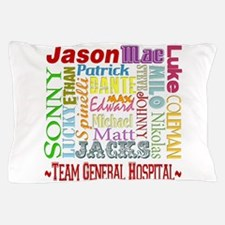 Team General Hospital Pillow Case