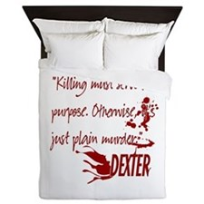Dexter Murder Queen Duvet