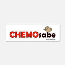 Cute Chemotherapy Car Magnet 10 x 3