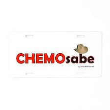 Unique Chemo Aluminum License Plate