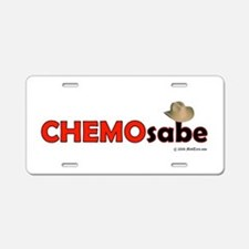 Cute Chemotherapy Aluminum License Plate