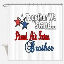 Air Force Brother Shower Curtain