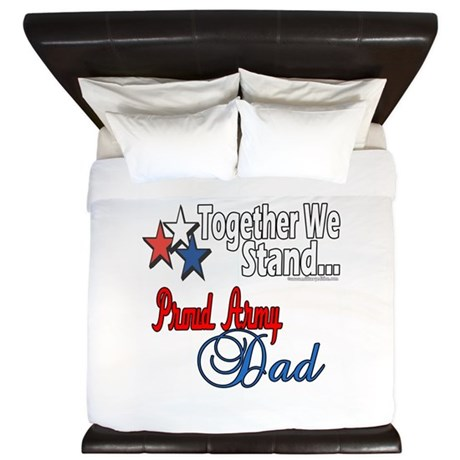 Army Father King Duvet