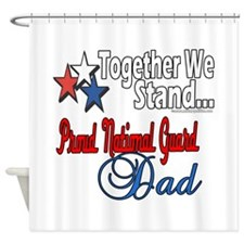 National Guard Father Shower Curtain