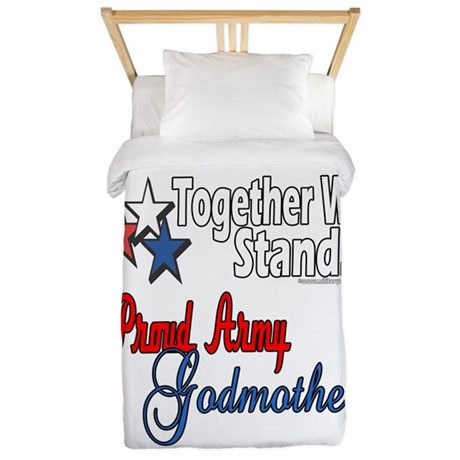 Army Godmother Twin Duvet