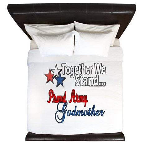 Army Godmother King Duvet