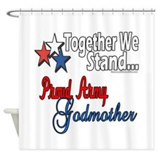 Army Godmother Shower Curtain
