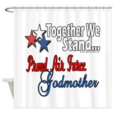 Air Force Godmother Shower Curtain