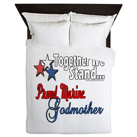 Marine Godmother Queen Duvet