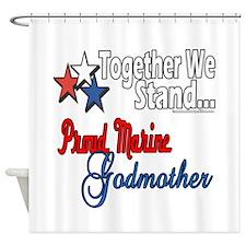 Marine Godmother Shower Curtain