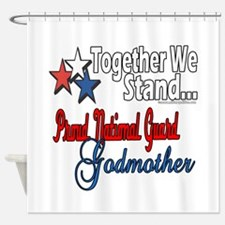 National Guard Godmother Shower Curtain