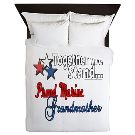 Marine Grandmother Queen Duvet