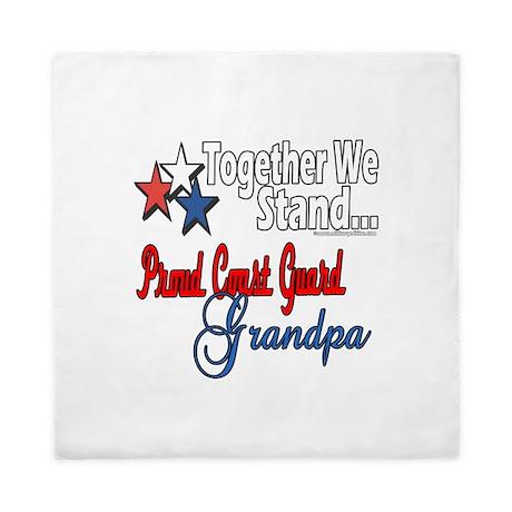 Coast Guard Grandpa Queen Duvet
