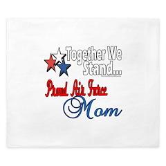 Air Force Mom King Duvet