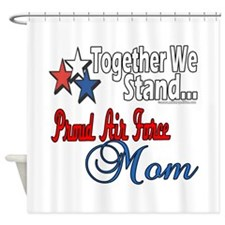 Air Force Mom Shower Curtain