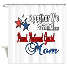 National Guard Mom Shower Curtain