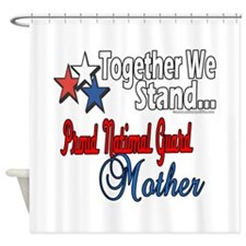 National Guard Mommy Shower Curtain