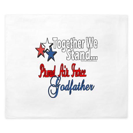 Air Force Godfather King Duvet