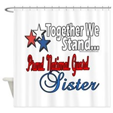 National Guard Sister Shower Curtain