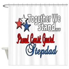 Coast Guard Stepdad Shower Curtain