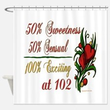 Exciting 102nd Shower Curtain