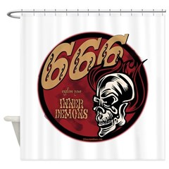 666 Shower Curtain