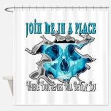 Join Me In A Place Shower Curtain