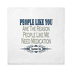 Medications Queen Duvet