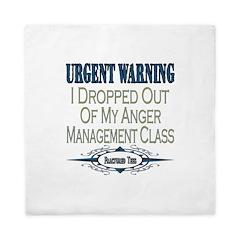 Anger Management Queen Duvet