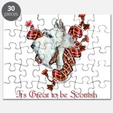 Proud Wheaten Scottie Puzzle