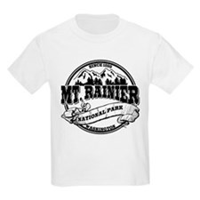 Mt. Rainier Old Circle T-Shirt