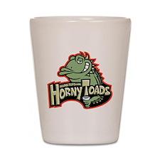Hamsterdam HornyToads Shot Glass