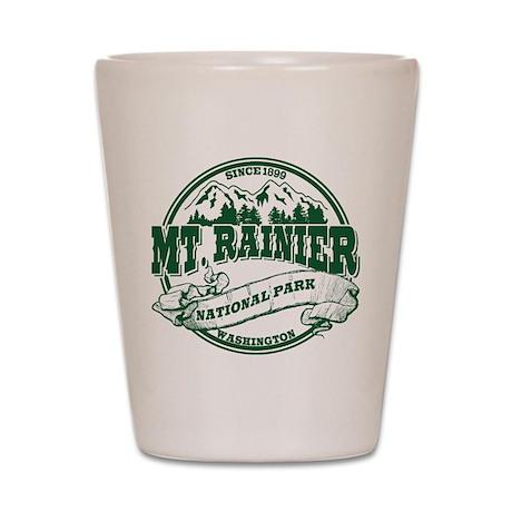 Mt. Rainier Old Circle Shot Glass