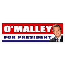 OMalley for President Bumper Bumper Sticker