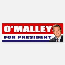 OMalley for President Bumper Bumper Bumper Sticker