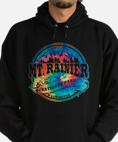 Mt. Rainier Old Circle Hoodie (dark)
