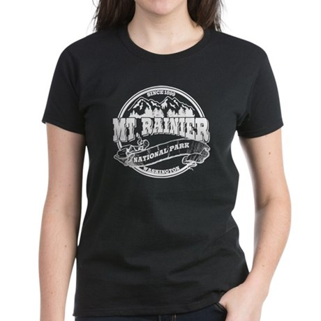 Mt. Rainier Old Circle Women's Dark T-Shirt