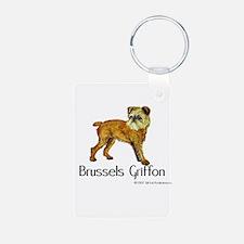 Brussels Griffon Keychains