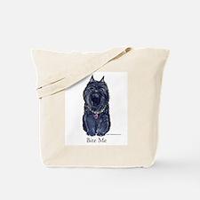 Brussels Bite Me Griffon Tote Bag