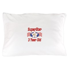 Superstar at 3 Pillow Case