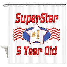 Superstar at 5 Shower Curtain