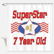 Superstar at 7 Shower Curtain