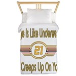 Funny 21st Birthday Twin Duvet