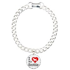 I Love My Scottish Terrier Bracelet