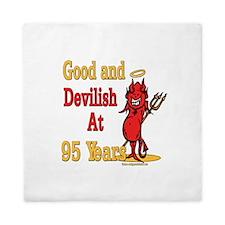 Devilish at 95 Queen Duvet