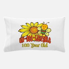 Un-Bee-Lievable 100th Pillow Case