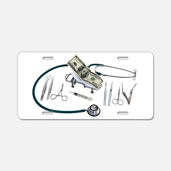 MedicalFunds082309.png Aluminum License Plate