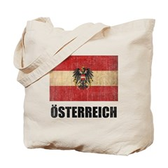 Vintage Austria Tote Bag