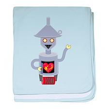 Tin Man baby blanket